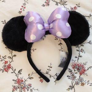 Purple Polka Dot Disneyland Ears